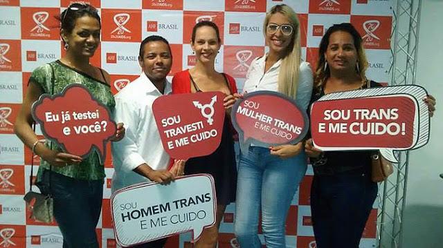Travestis e Transexuais de Goiana participam de campanha de saúde LGBT