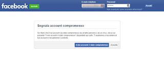 Facebook compromesso