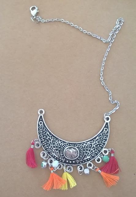 DIY, collier, boheme, atelier de la malie, perle des loisirs