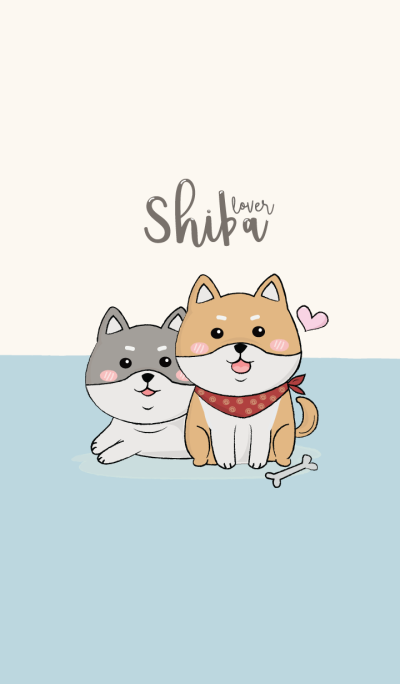 Shiba dog lover