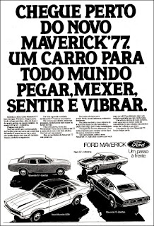 Ford.  reclame de carros anos 70. brazilian advertising cars in the 70. os anos 70. história da década de 70; Brazil in the 70s; propaganda carros anos 70; Oswaldo Hernandez;