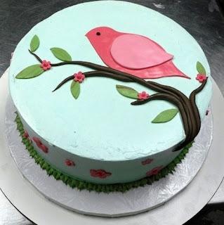 kue ultah burung