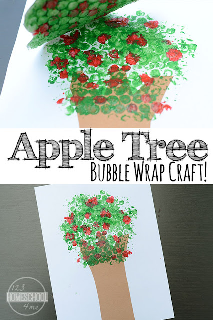 bubble-wrap-apple-craft-for-kids