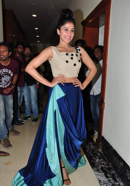 Regina Cassandra in Skirt and Crop Top