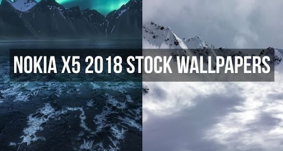 Download Stock Wallpaper Nokia X5 2018 Gratis