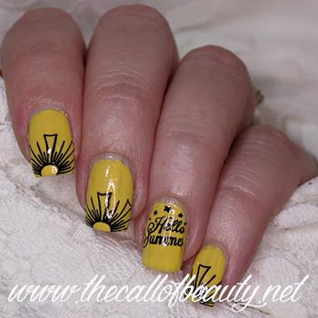 Sunshine Nail Art