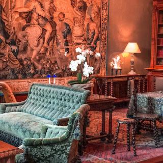 The New Blacck - Orléans - Blog - Chaumont sur Loire - Intérieur château - salon 1