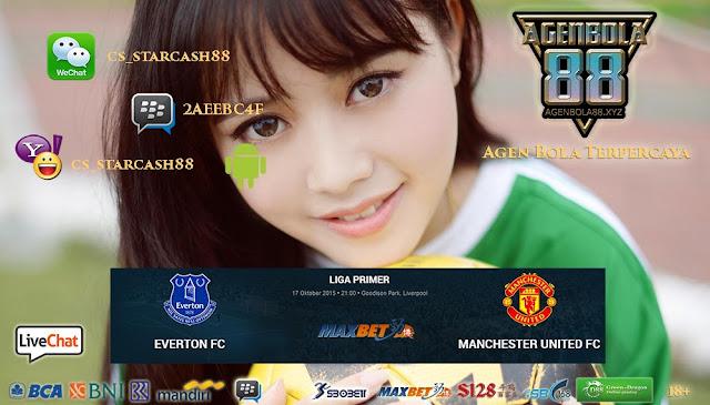 Prediksi Everton vs Manchester United 17 Oktober 2015