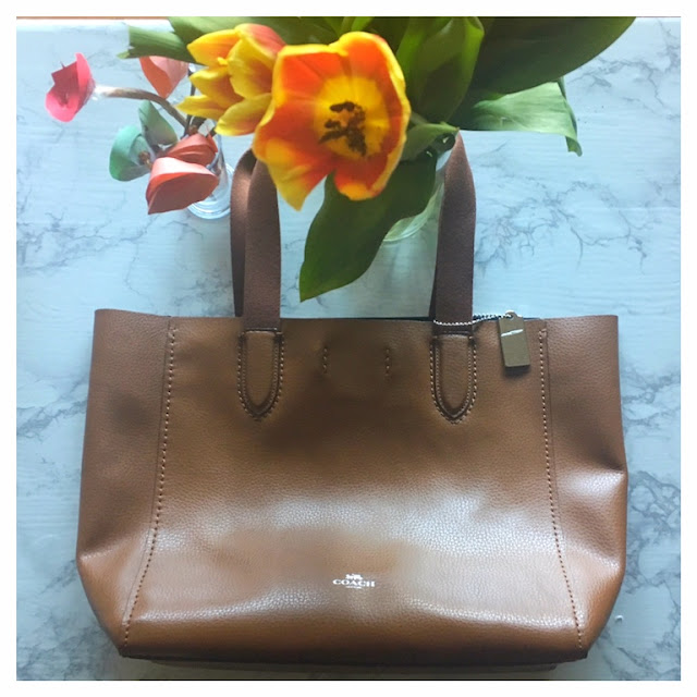 Brown Coach Tote