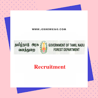 TNFUSRC Recruitment 2019 online application starts from 20th July 2019