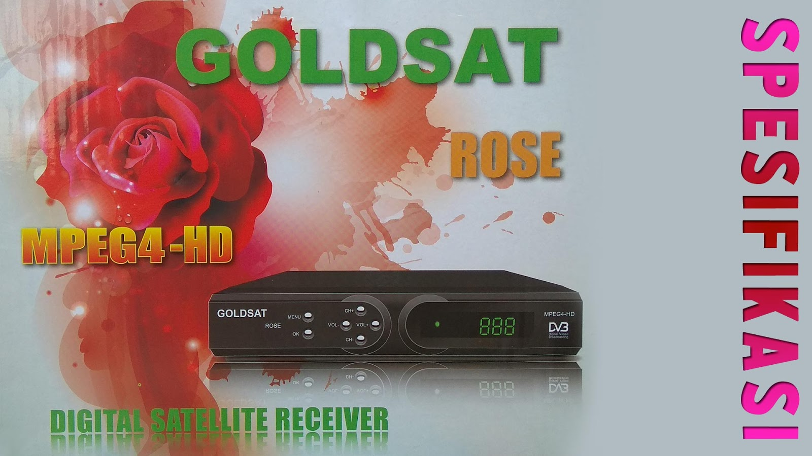 Harga Spesifikasi Receiver Goldsat Rose HD Guoxin GX6605S