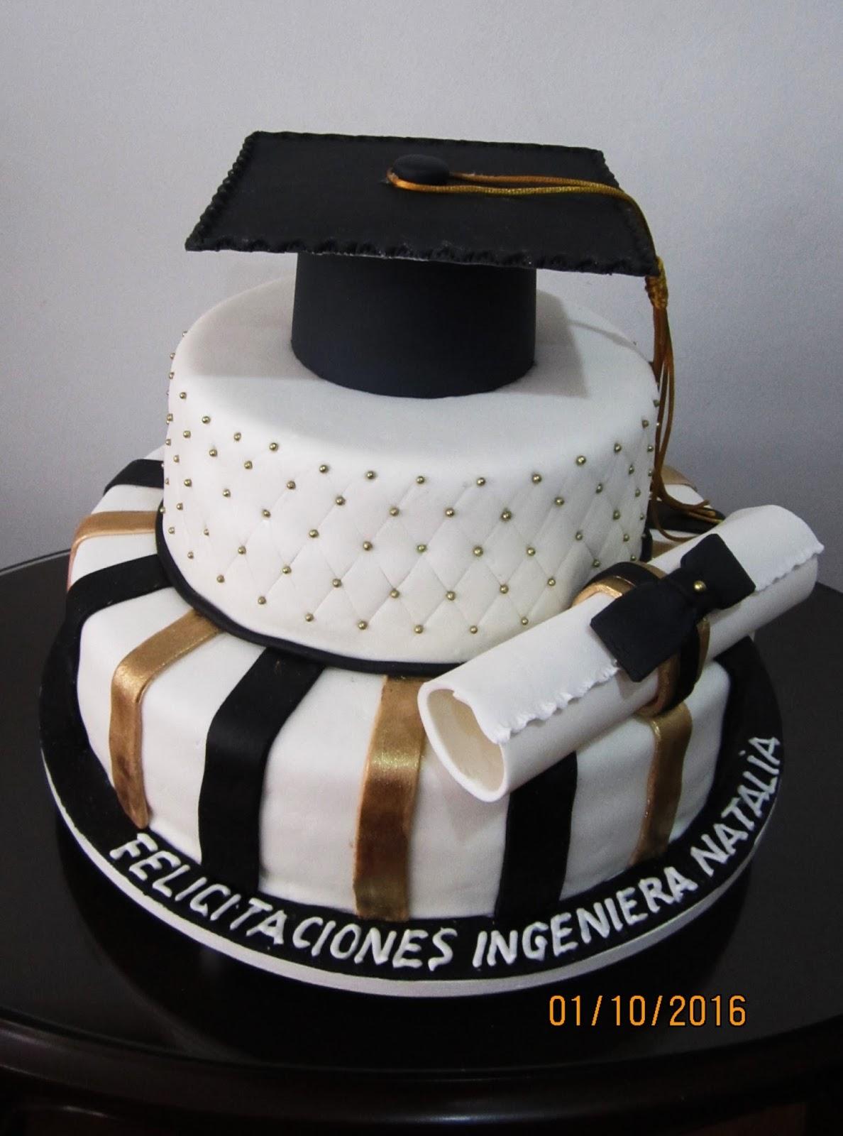 Tortas y ponques lucia tortas para grado y cumplea os for Decoracion de grado