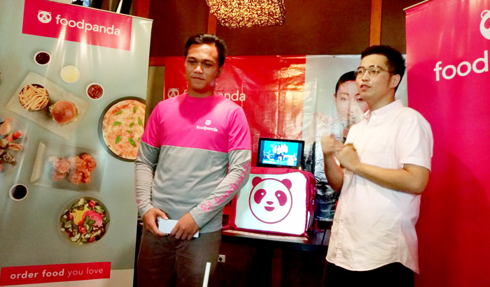 Food delivery service platform, foodpanda is now in Davao City