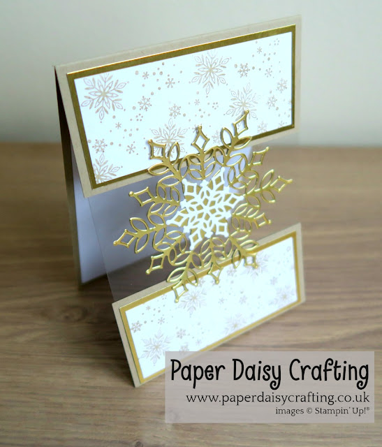 Snowfall dies Stampin Up