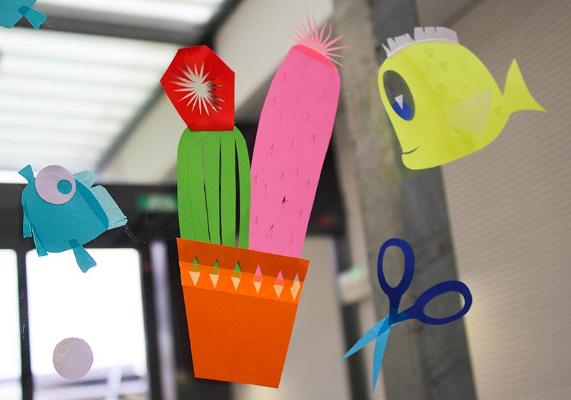 cactus poisson et ciseaux