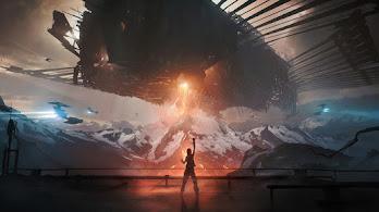 Sci-Fi, Spaceship, 4K, #4.1025