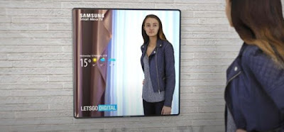 Samsung To Unveil TV That Transforms Into A Smart Mirror