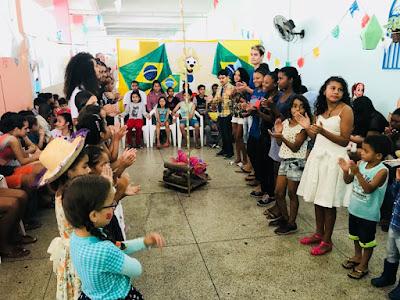 Serviço de Convivência e Fortalecimento de Vínculos de Juquiá,realiza festa Junina para crianças e adolescentes