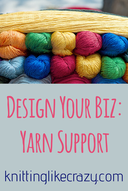 Design Your Biz: Yarn Support