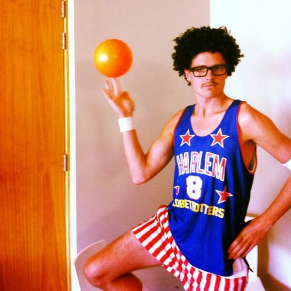 Wrong sport bro globe trotter  costume