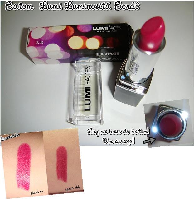Maquiagem  Lumi cosméticos