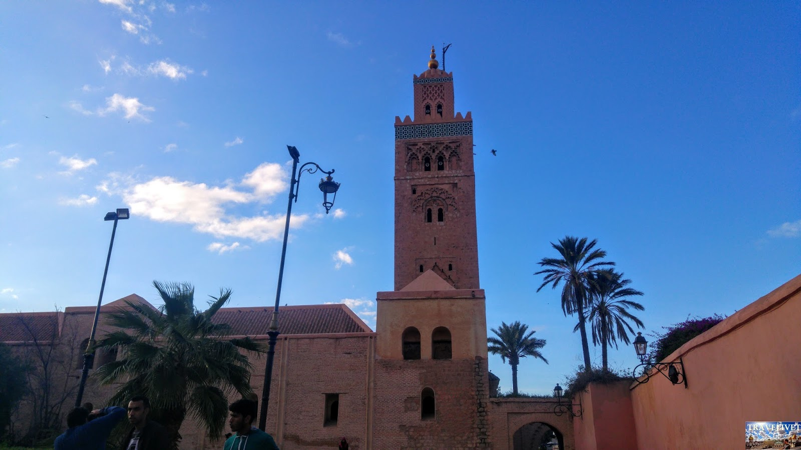 Maroc Marrakech Minaret de la Koutoubia