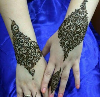 Arabic mehndi designs for left hand images