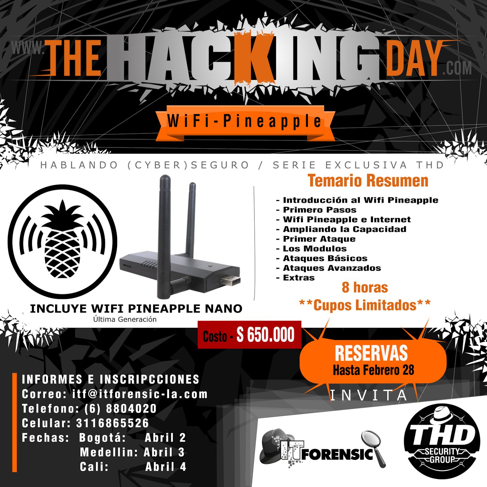 THE HACKING DAY BLOG: WIFI PINEAPPLE - LO NUEVO