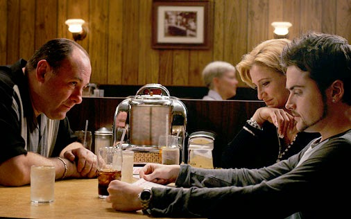 Last scene of The Sopranos