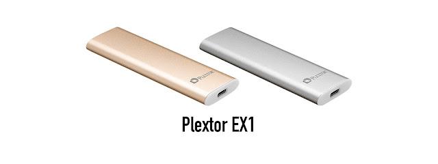 Plextor EX1: ổ cứng SSD sử dụng USB-C, tốc độ đọc/ghi cao