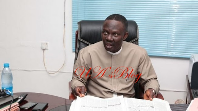 Afegbua Turns Self In At Police Headquarters