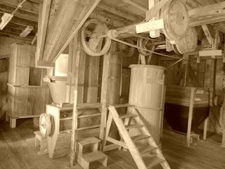 Antigo Maquinário do Moinho Rasche, Nova Petrópolis