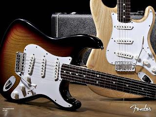 imagenes de guitarras fender electricas