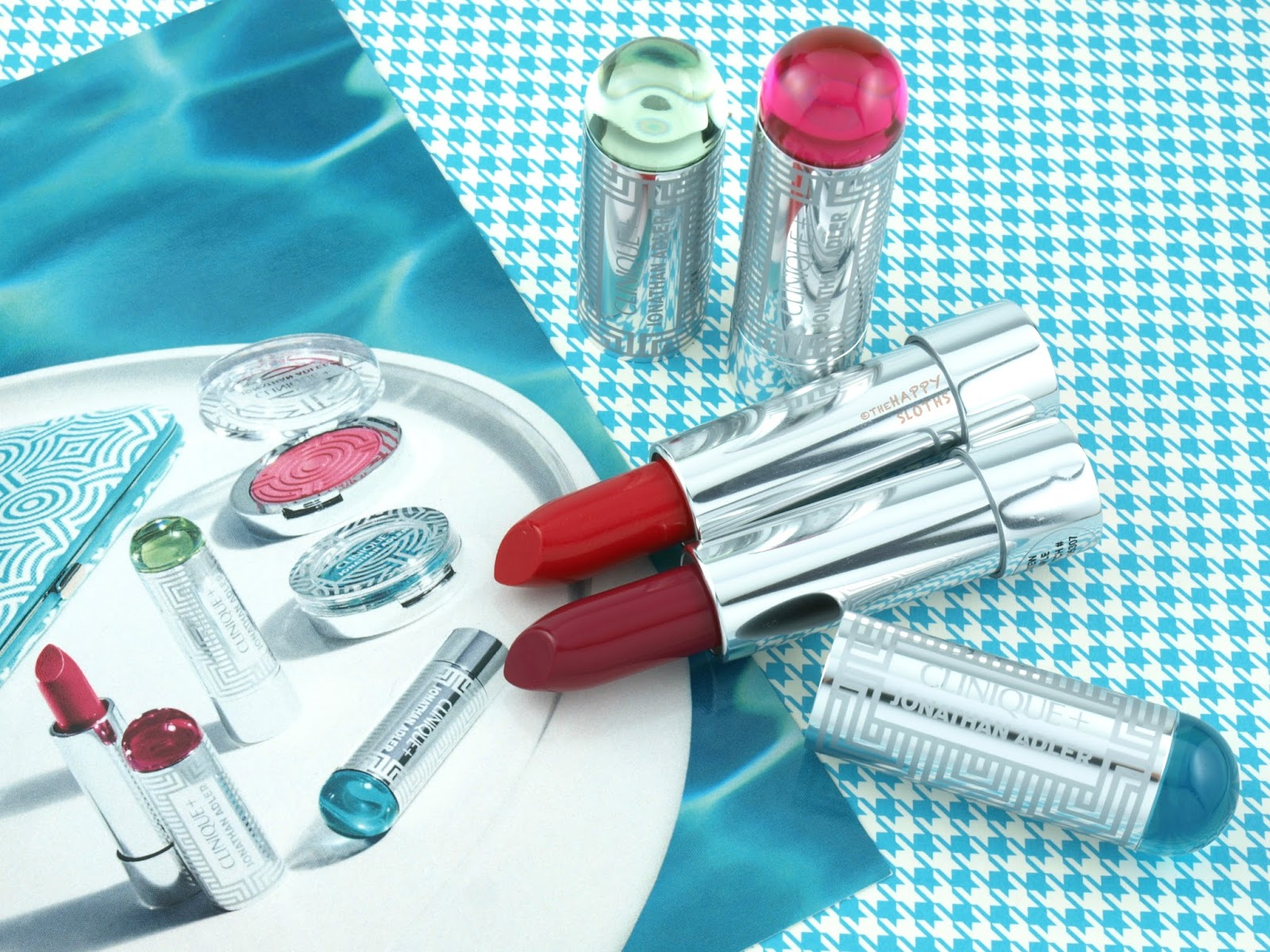 Clinique + Jonathan Adler Collection | Lip Color + Primer Lipstick: Review and Swatches