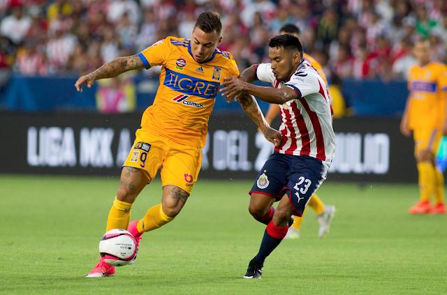 Tigres ganó 1-0 a Chivas