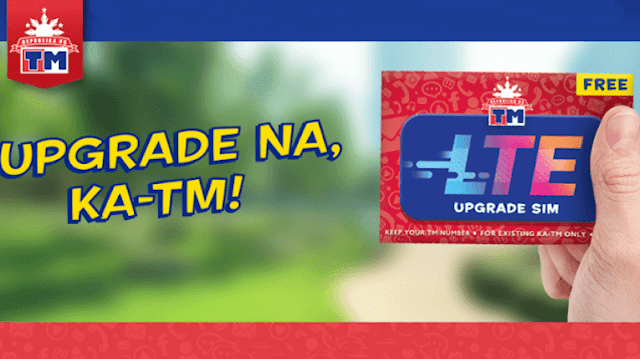 How to Upgrade TM SIM to LTE for FREE