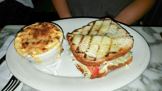 Khyber Pass - Fried Green Tomato BLT & Mac n Cheese