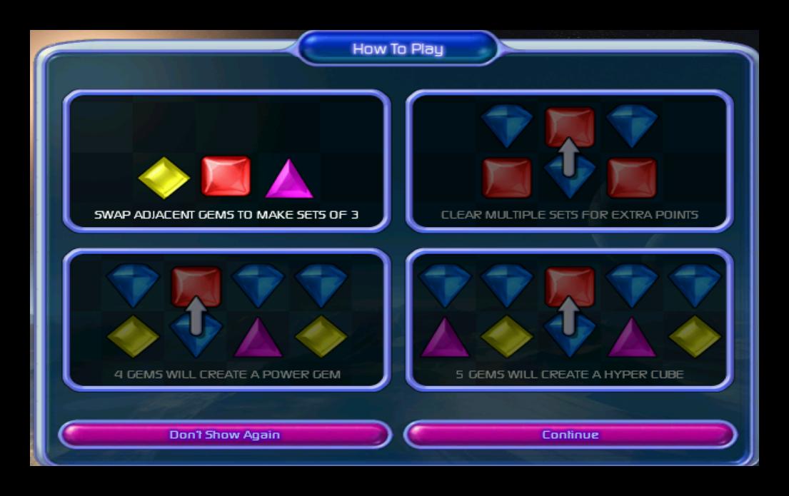 Bejeweled 2 Deluxe - Katılımsız Oyun