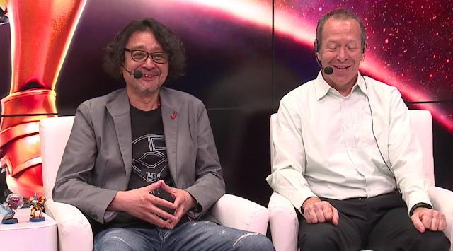 Metroid series producer Yoshio Sakamoto E3 2017 Nintendo