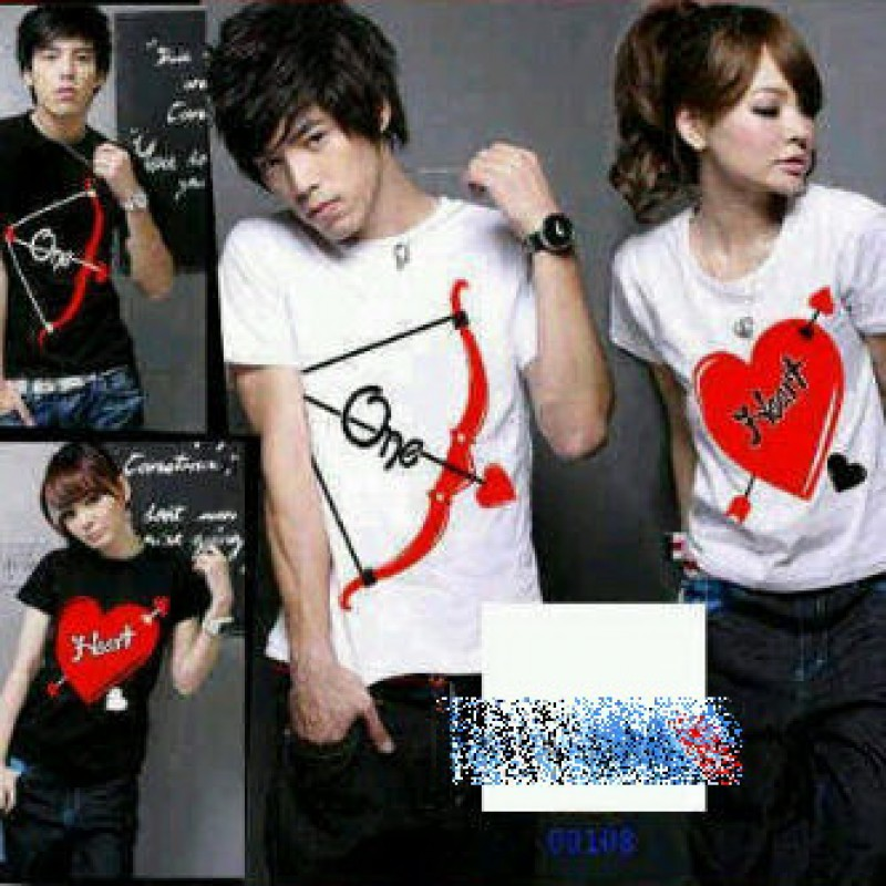 Jual Baju Couple Panah One Heart - 21426
