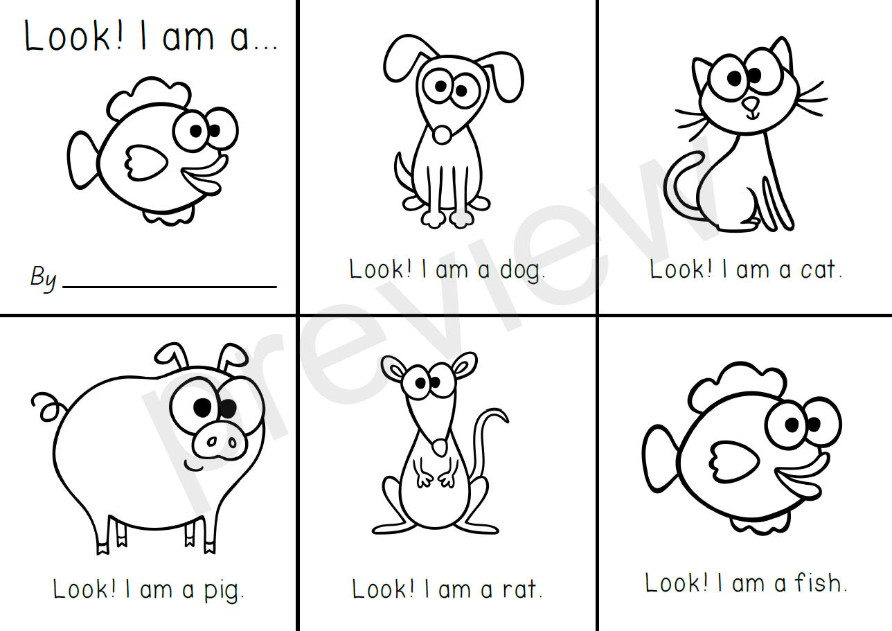 New 145 Sight Word Printable Books For Kindergarten