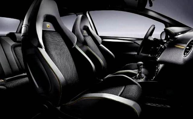 Fiat Punto Abarth Supersport Interior