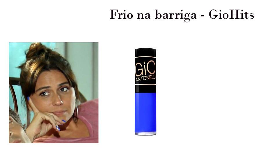 386652e09 Esmalte Frio na Barriga ( foto  Tv Globo divulgação)