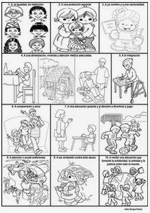 Recursos Para Educación Primaria Y Secundaria Derechos Y Deberes De