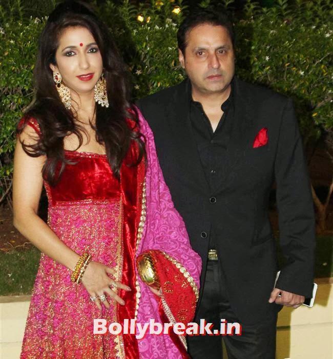 Krishika Lulla and Sunil Lulla, Bollywood Babes at Vishesh Bhatt Wedding Reception