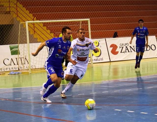 Fixo Willian Perú vive a expectativa da estreia do Joaçaba Futsal na Liga Nacional