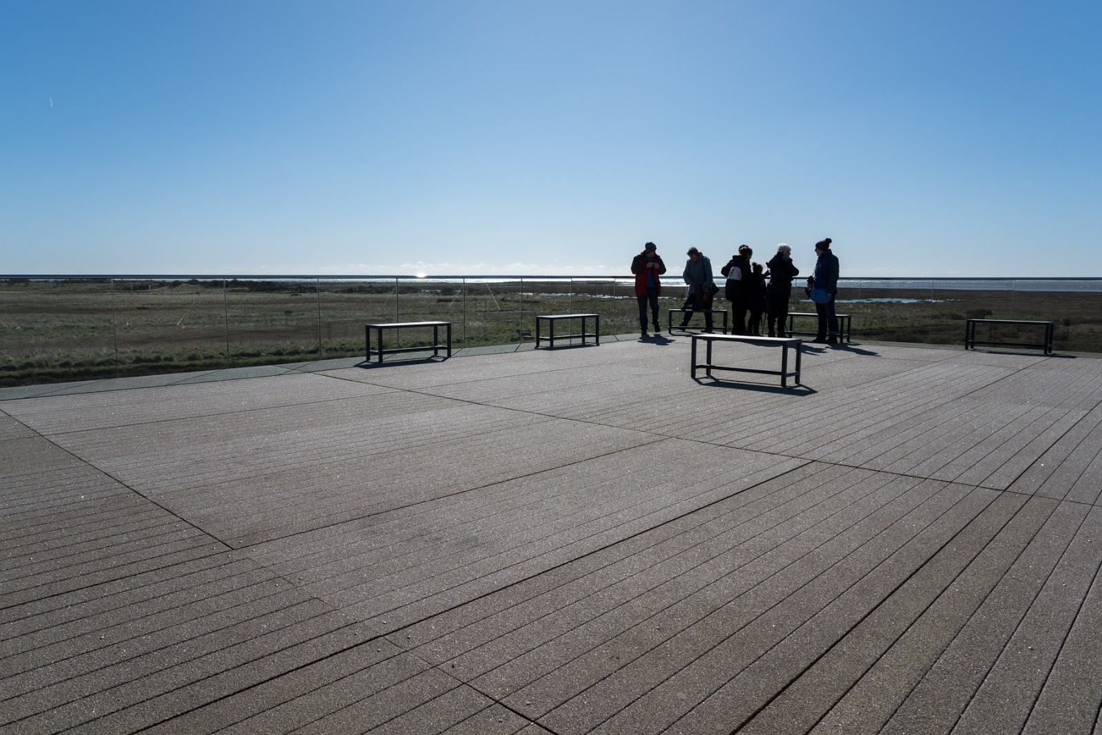 Observation deck - Gibraltar Point