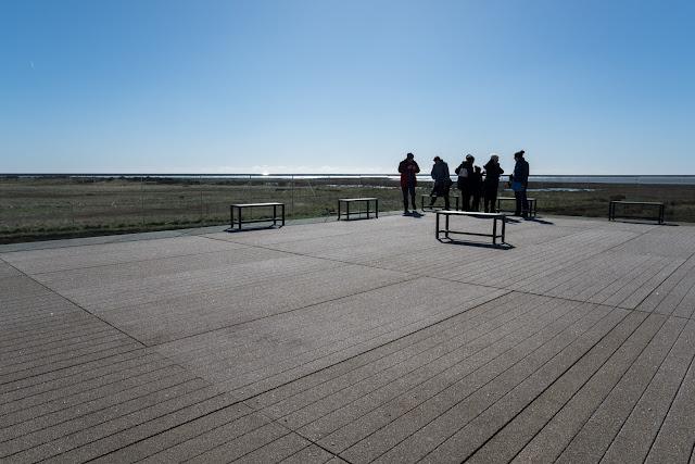 Observation deck - Gibraltar Point