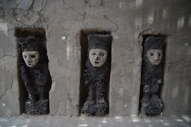 Chan Chan hallazgo idolos madera