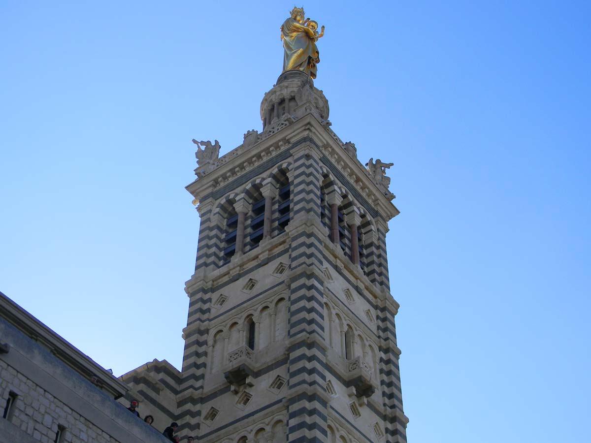Notre-Dame-de-la-Garde, la Bonne Mère, Marseille, automne